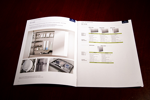 Printed catalogs